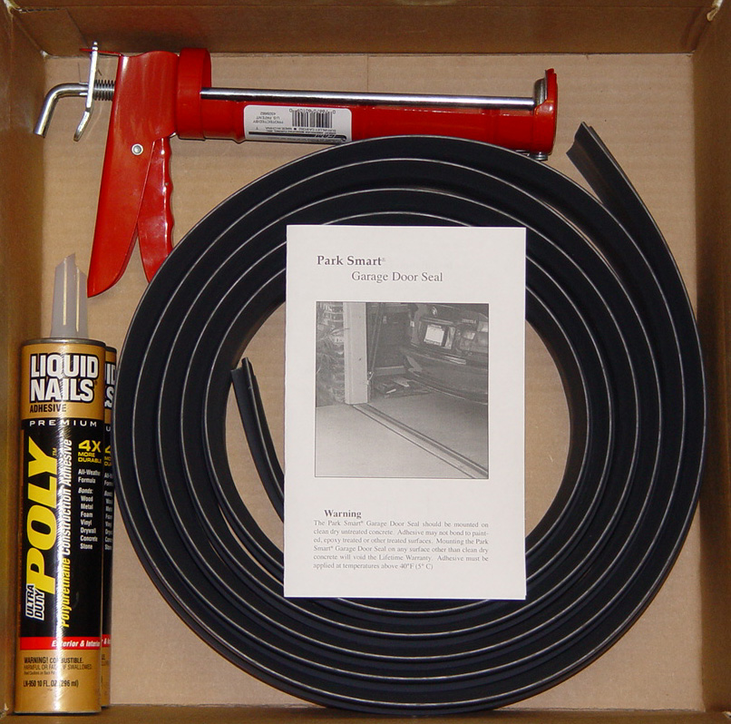 Garage Floor Water Barrier Flooring Home Decorating: Tsunami Seal™ Garage Door Threshold Seal